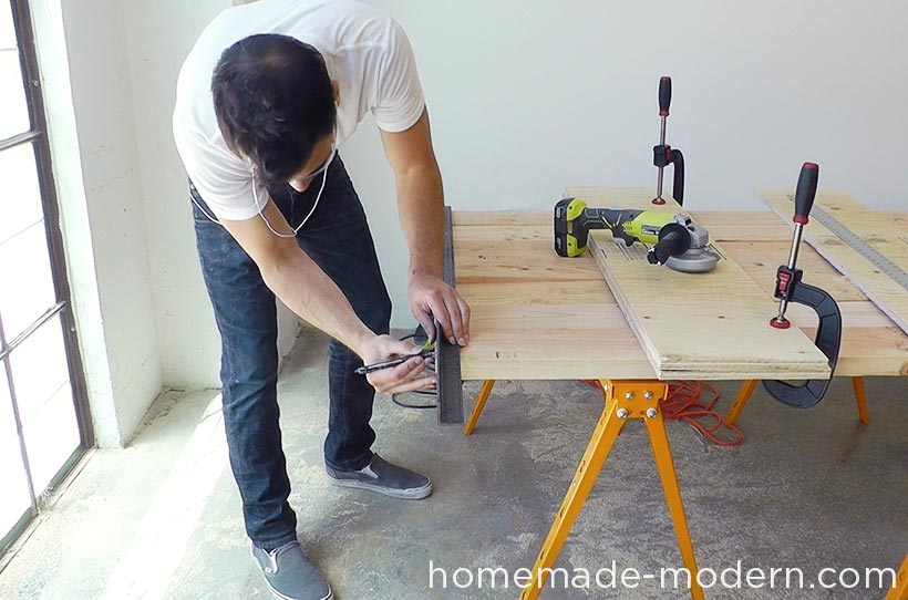 HomeMade Modern DIY EP64 Conference Table Step 5
