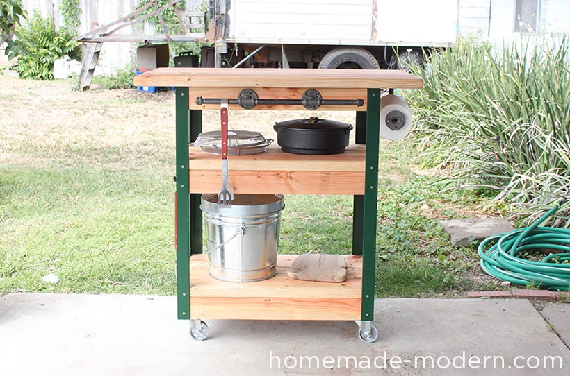 Ep65 Grill Station Homemade Modern