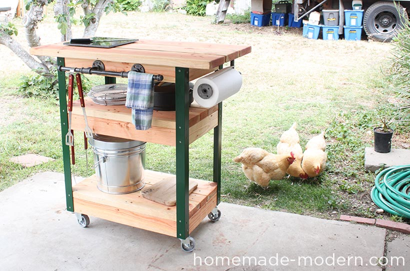 HomeMade Modern DIY EP65 Grill Station Options