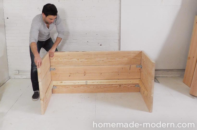 HomeMade Modern DIY EP66 Box Sofa Step 5. HomeMade Modern EP66 Box Sofa