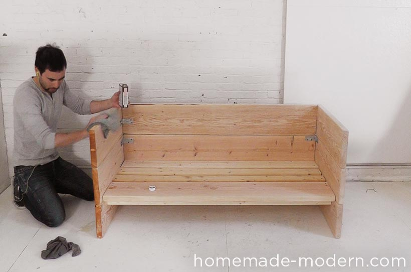 HomeMade Modern DIY EP66 Box Sofa Step 7 & HomeMade Modern EP66 Box Sofa