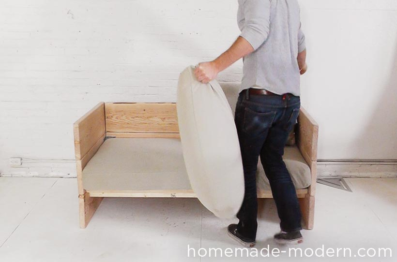 HomeMade Modern DIY EP66 Box Sofa Step 8