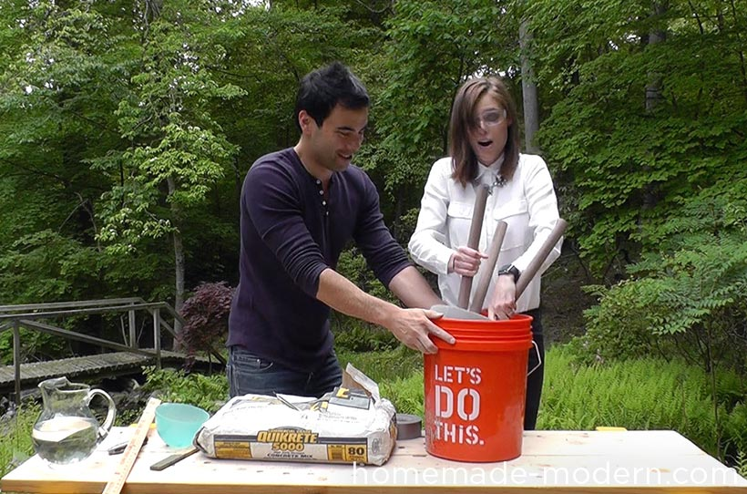 HomeMade Modern DIY EP67 Coco Rocha Bucket Stool Step 11