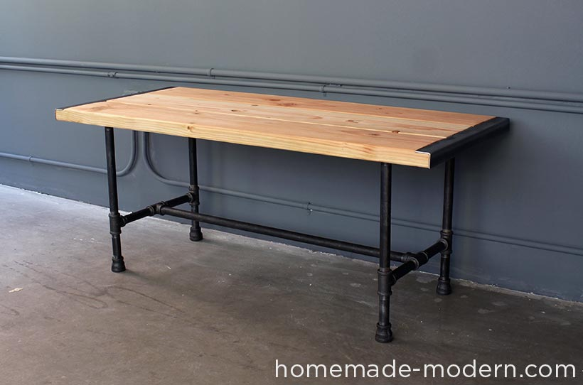 Hhomemade Modern Diy Ep68 Pipe Coffee Table Options