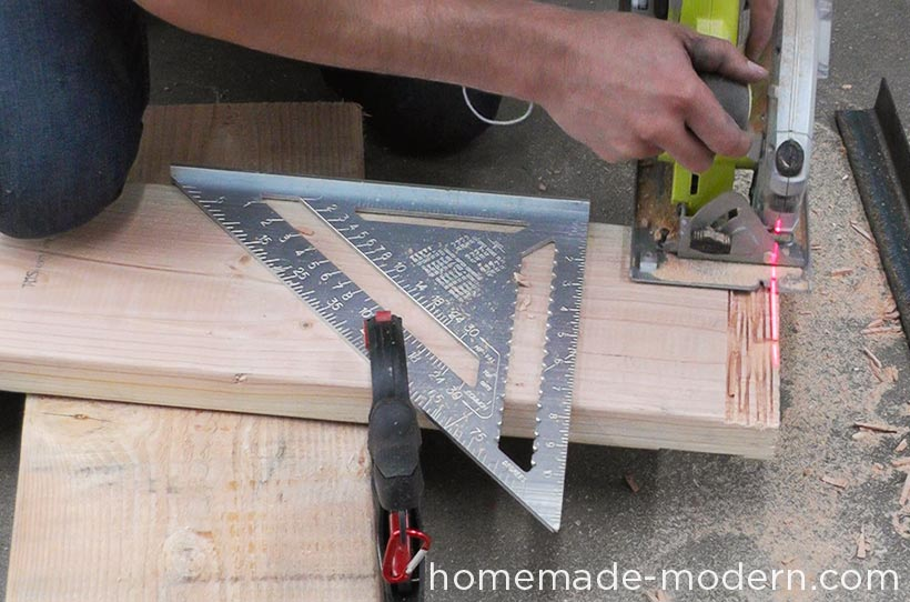 HomeMade Modern DIY EP68 Pipe Coffee Table Step 5