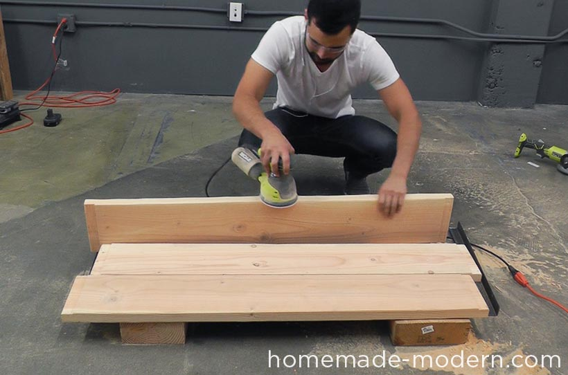 HomeMade Modern DIY EP68 Pipe Coffee Table Step 7