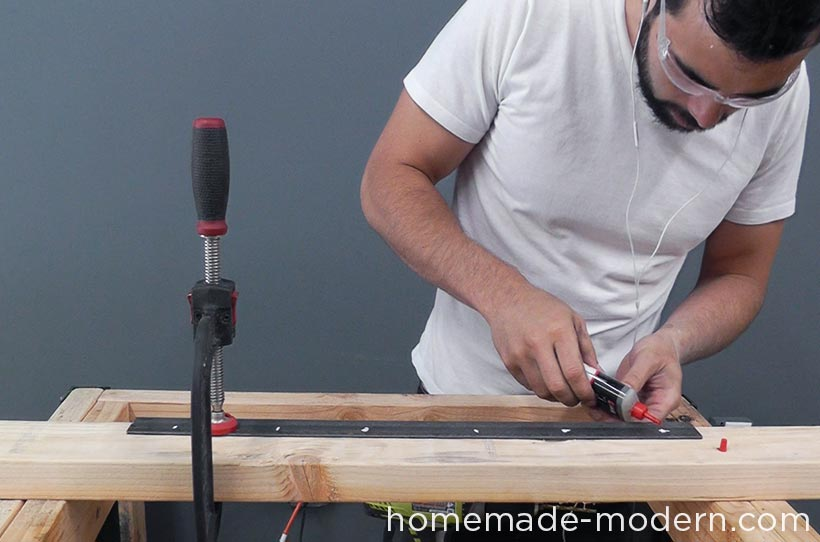 HomeMade Modern DIY EP68 Pipe Coffee Table Step 9