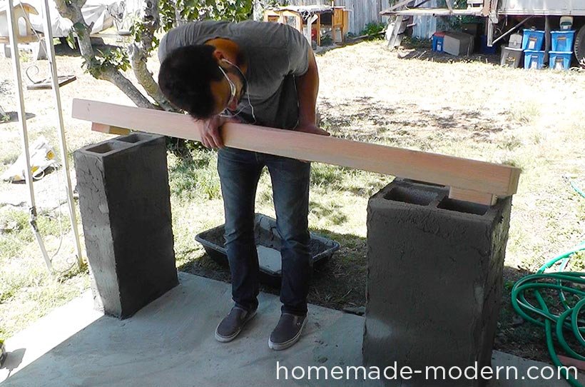 HHomeMade Modern DIY EP69 Quickwall Bar Step 10
