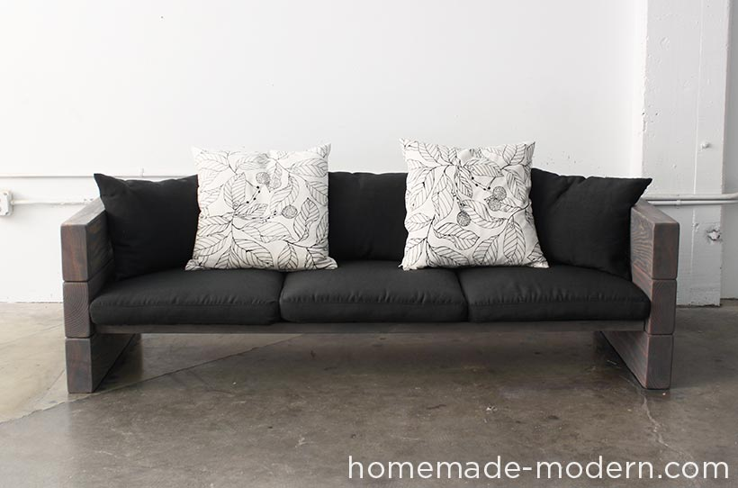 diy outdoor furniture couch do it yourself homemade modern diy ep70 outdoor sofa options