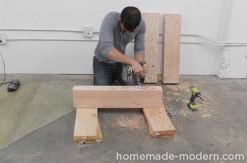 HomeMade Modern DIY EP70 Outdoor Sofa Step 4