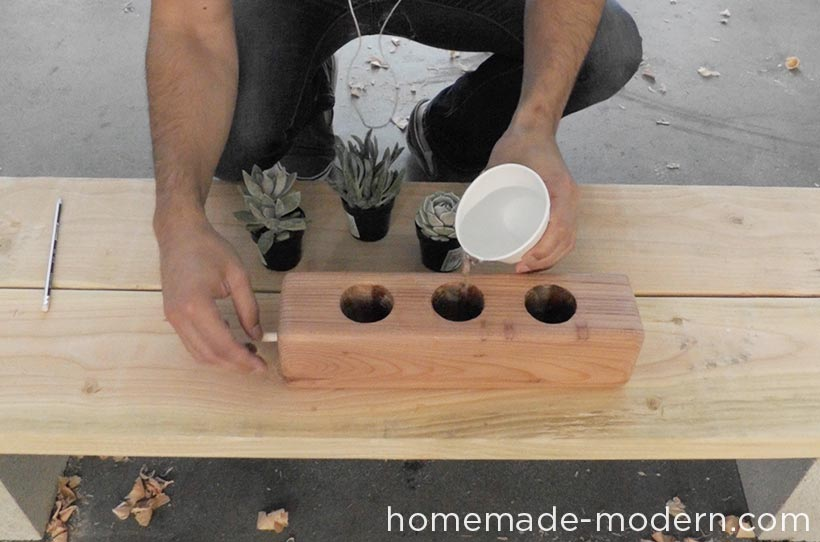 HomeMade Modern DIY EP71 Succulent Planter Step 6