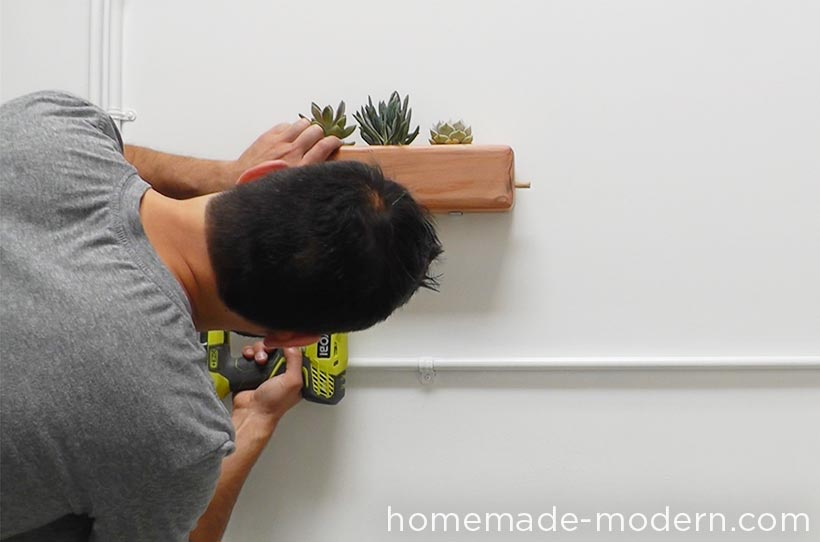 HomeMade Modern DIY EP71 Succulent Planter Step 7
