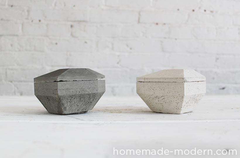 HomeMade Modern DIY EP72 Concrete Heart Box Options