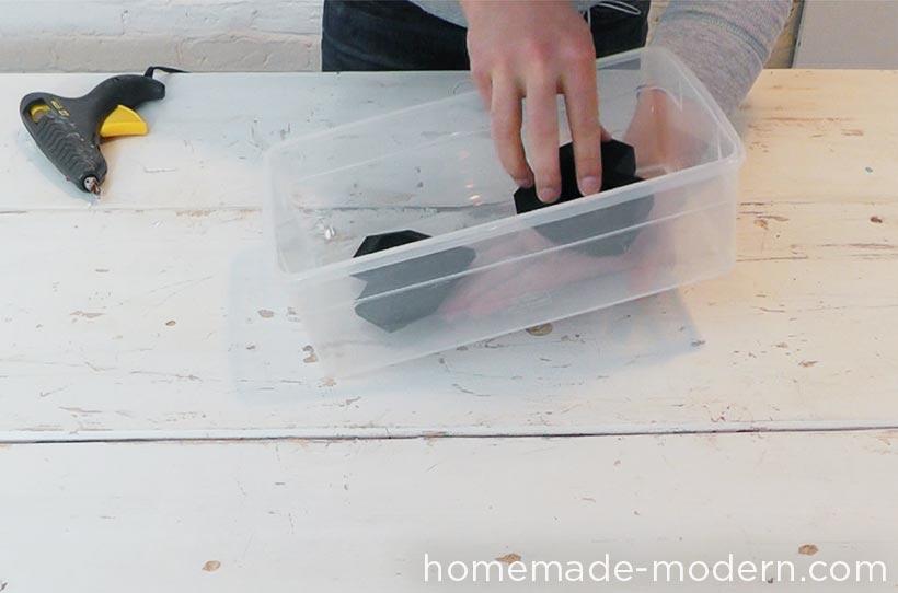 HomeMade Modern DIY EP72 Concrete Heart Box Step 2