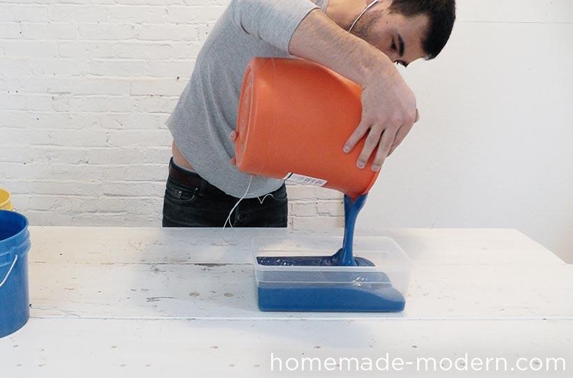HomeMade Modern DIY EP72 Concrete Heart Box Step 3