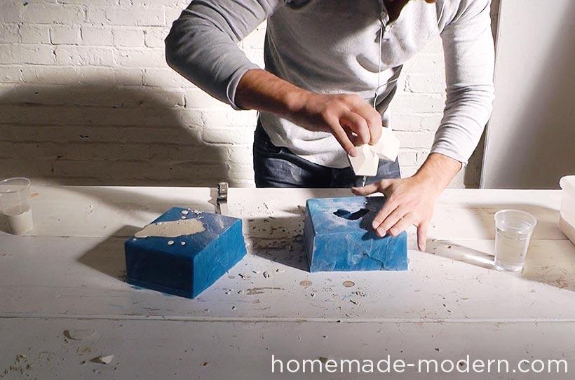 HomeMade Modern DIY EP72 Concrete Heart Box Step 6