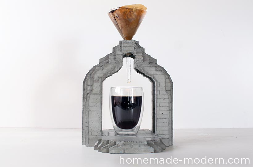 HomeMade Modern DIY EP73 Concrete Coffee Maker Options