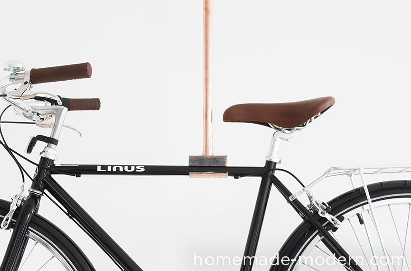 HHomeMade Modern DIY EP76 Copper Bike Rack Options