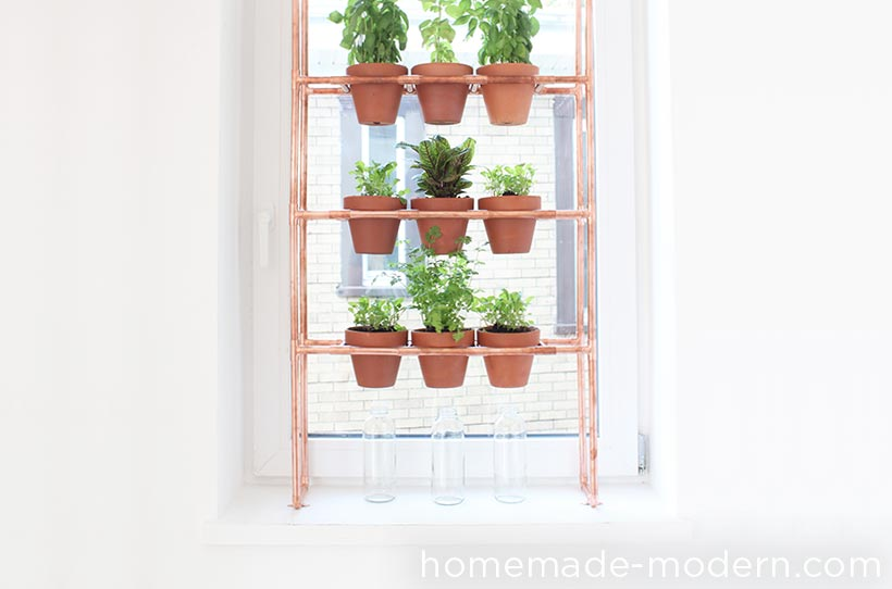 HomeMade Modern DIY EP77 Copper Herb Garden Options