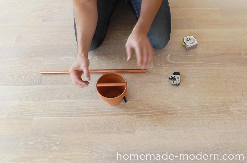 HomeMade Modern DIY EP77 Copper Herb Garden Step 1