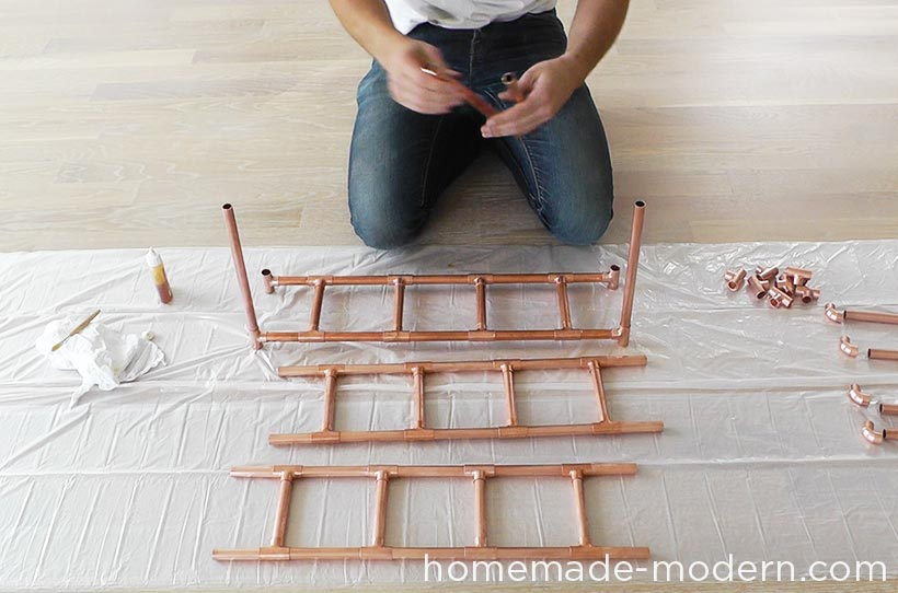 HomeMade Modern DIY EP77 Copper Herb Garden Step 4