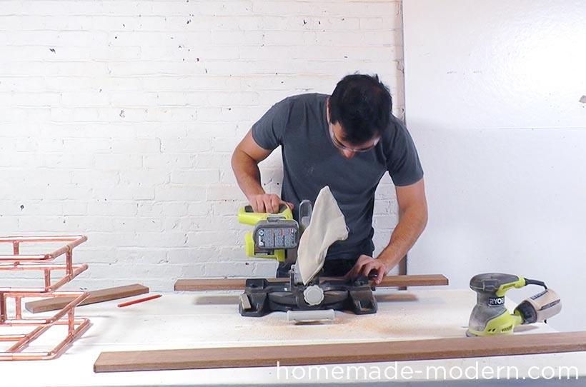 HomeMade Modern DIY EP78 Copper Bike Basket Step 5