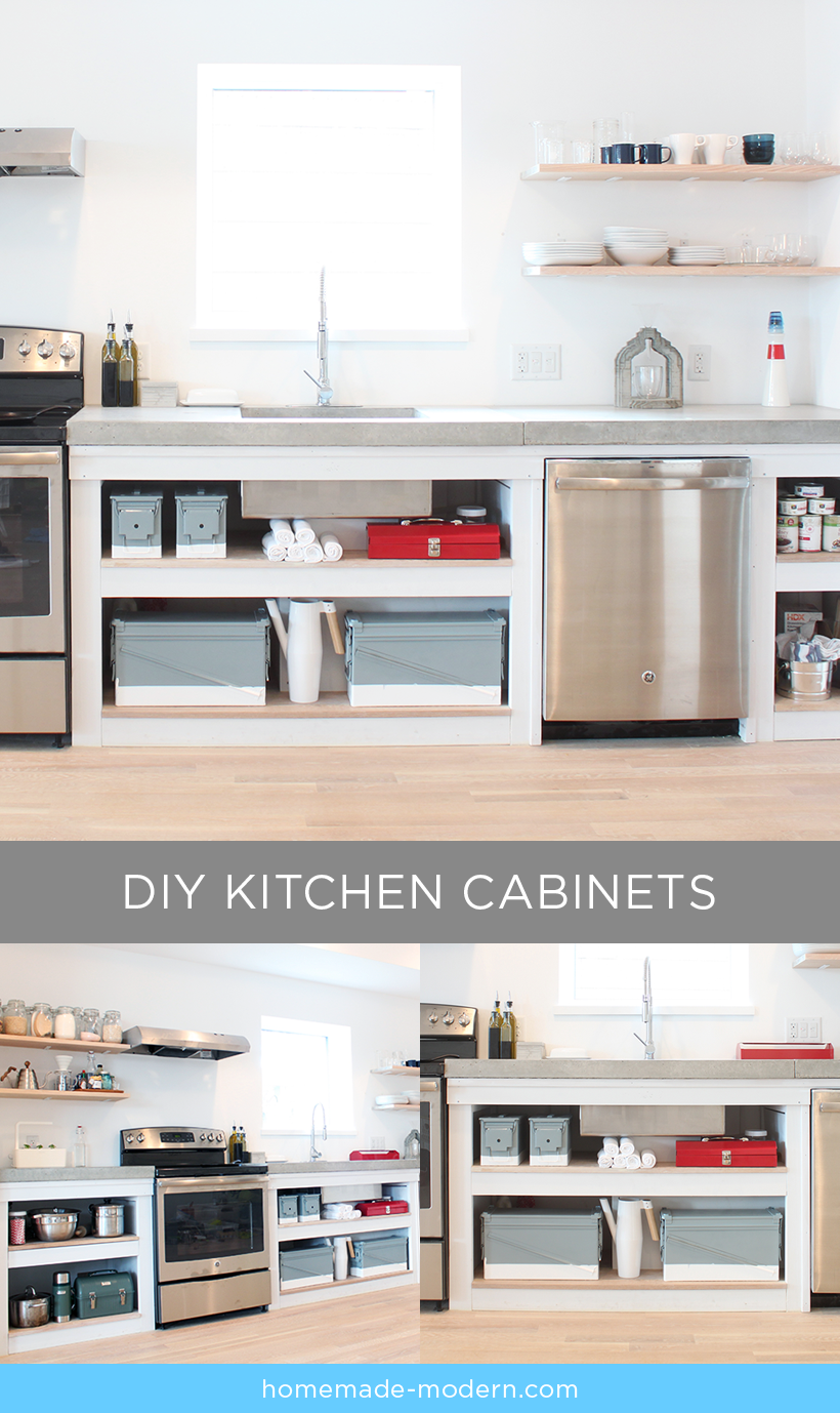 HomeMade Modern DIY EP86 Kitchen Cabinets Postcard