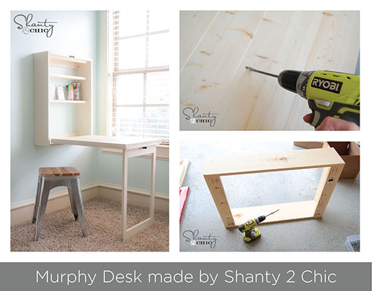 Murphy desk by Shanty 2 Chic