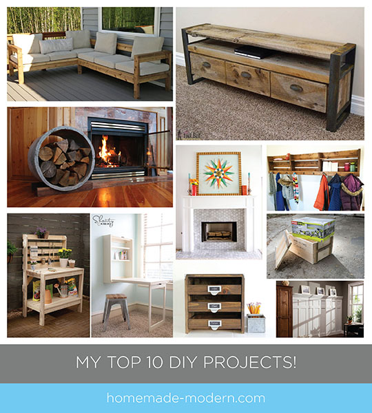 Here are my 10 favorite DIY projects from Ryobi Nation!