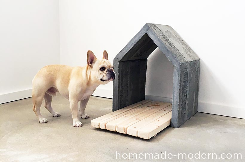 Homemade Modern Ep83 Concrete Doghouse