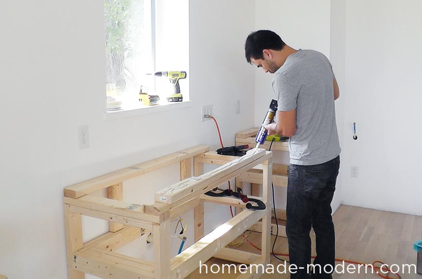 HomeMade Modern EP Kitchen Cabinets - How to build kitchen cabinets from scratch