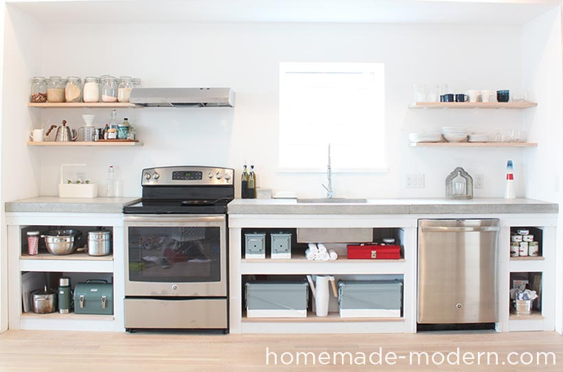 This Entire Kitchen Is A DIY Project That Costs Less Than $3500 For  Everything Including Appliances