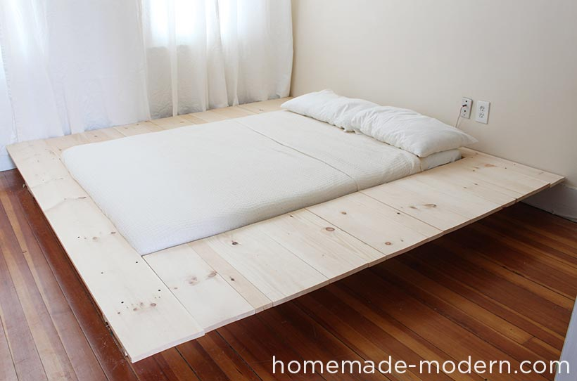 Full instructions for the DIY platform storage bed are exclusively in the HomeMade Modern Book by Ben Uyeda. For a sneak peek of some of the projects, check out HomeMade-Modern.com.